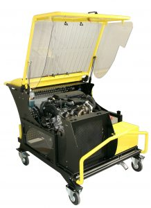 MT-MOTEUR diesel and petrol engines educational bench