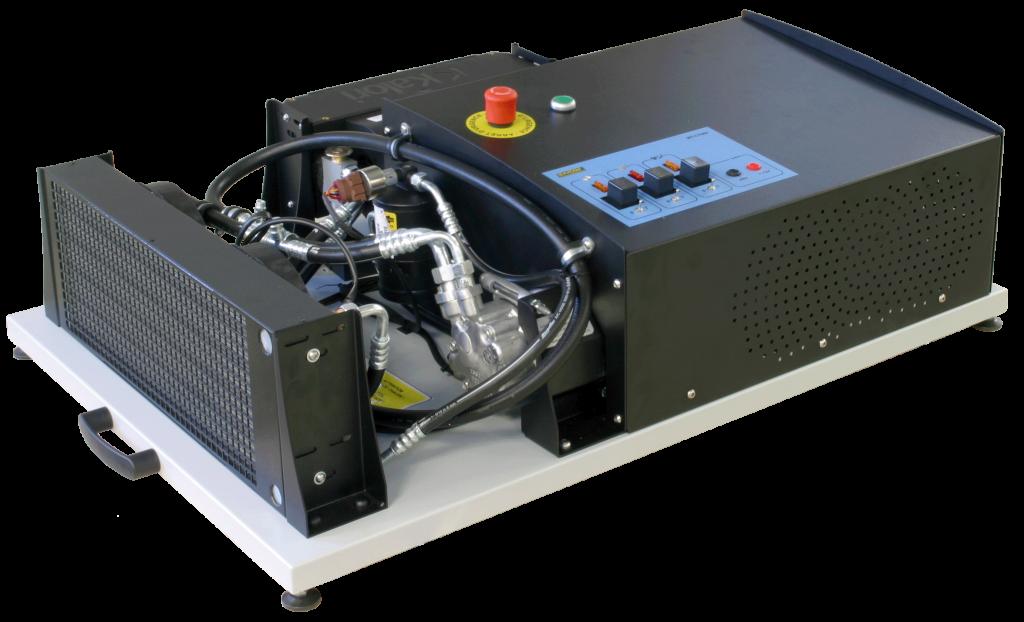 Maquette pour centre de formation climatisation HFC R134a